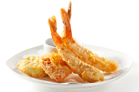 prawn: Deep Fried Shrimp with Sauce
