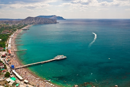 Southern Coast of Crimea Stock Photo - 8502730