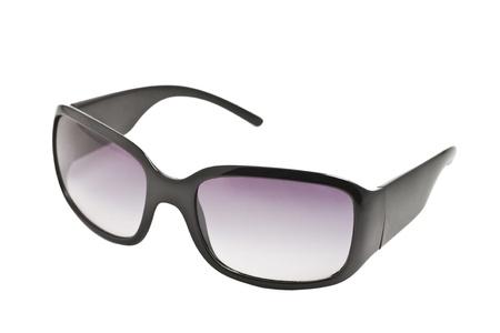 Stylish sunglasses isolated on  white. clouse up photo photo