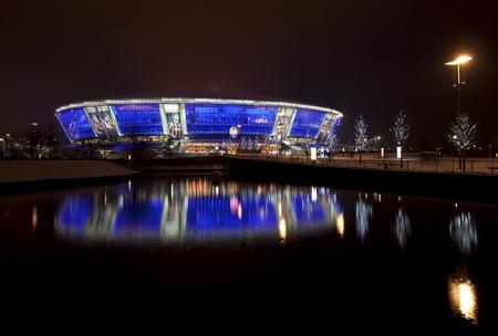 donbass: DONETSK, UKRAINE, 2011, 24, December - Stadium Donbass Arena