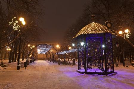 DONETSK, UKRAINE, 2011, 24, December - Forged Figures Park