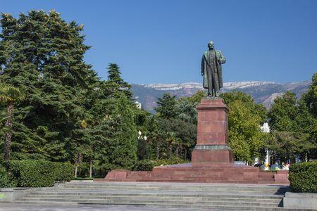 lenin: Lenin Monument In Yalta, Ukraine
