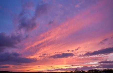 bright sunset sky background, beautiful nature landscape