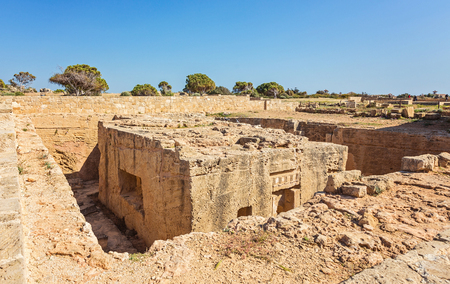Tomb of the Kings, Paphos na Cyprze