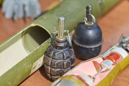 RGD - 5, hand grenade. Weapons of war in Ukraine