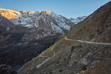 Town of Aroumd, Toubkal national park, Morocco