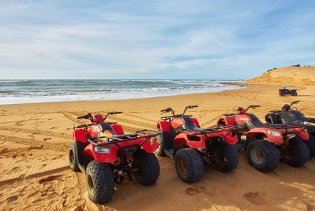Quad Tour at the beach in Essaouira, Morocco
