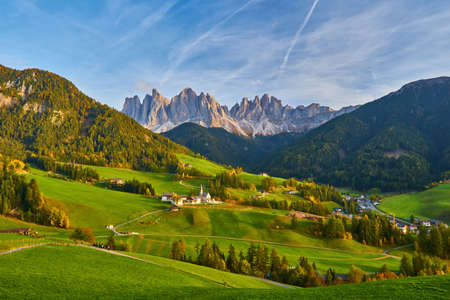 Santa Maddalena in Dolomites Range, South Tyrol, Italy