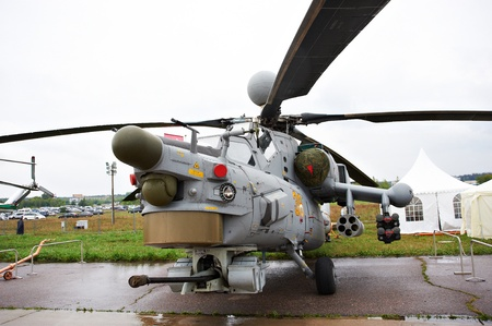 Combat attack helicopter MI-28N