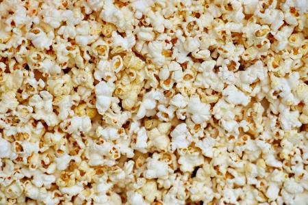 popcorn: Sfondo di popcorn Archivio Fotografico