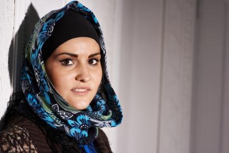 Beautiful Muslim girl headscarf
