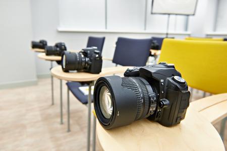 Reflex digital camera in the classroom photoschool