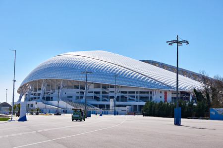 fisht: Fisht Olympic Stadium is an open-air stadium in Sochi, Russia. Located in Sochi Olympic Park