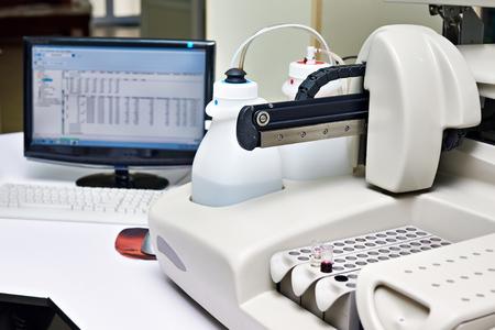 analyzer: Biochemical analyzer in laboratory of wine industry
