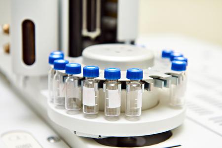 analyzer: Biochemical analyzer in science laboratory