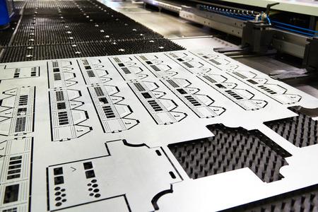 Afgewerkt product van lasersnijdende metaalmachine