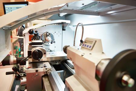 Modern lathe with CNC
