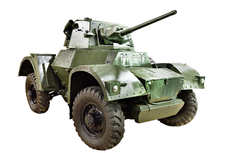 British armoured car Daimler MK II isolated