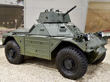 Ferret wheeled armoured fighting vehicle Stock Photo