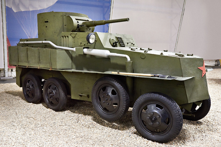 Soviet floating armored car PB-4