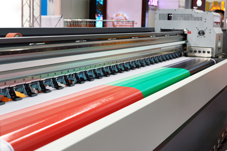 Big rolling UV LED plotter