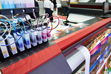 Inkt in cartridges en plotter