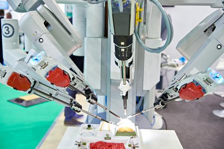 テスト医療スタンドのロボット外科システム