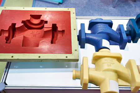 Molds for casting and plastic products Stok Fotoğraf