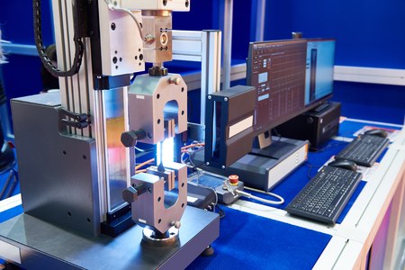 Electromechanical machines for testing materials for tensile, compression, bending, longterm strength