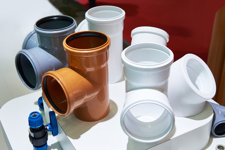 PVC fittings for sewerage system