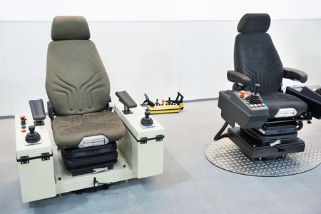 Driver seats for construction machinery