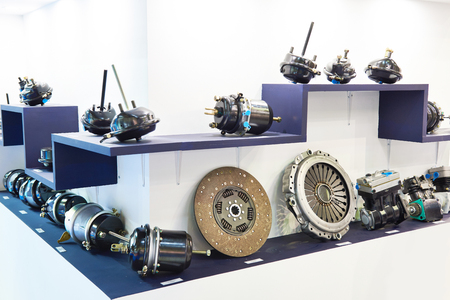 Clutch disc, pressure plate and spare parts  in the car store