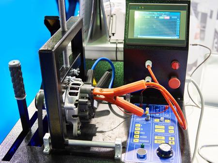 Automotive alternators and starter motors test bench