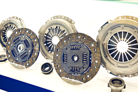Clutch discs and pressure plates in the car store
