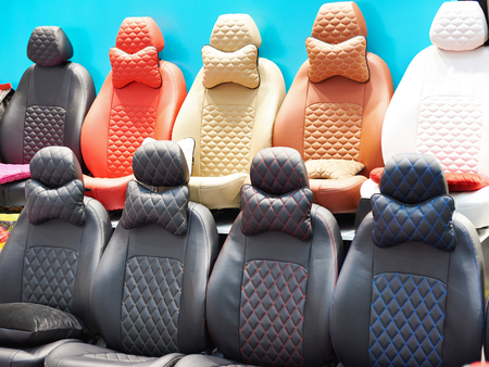 Covers for car seats in stores