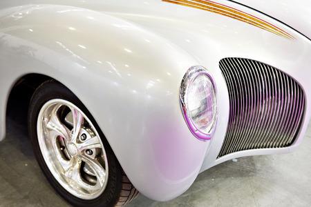 Vintage luxury expensive retro car