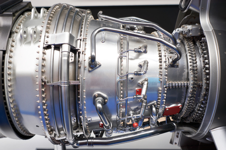 Two-circuit turbofan engine for aircraft on exhibition