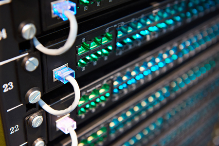 Telephone hybrid peer-to-peer private branch exchanges Standard-Bild