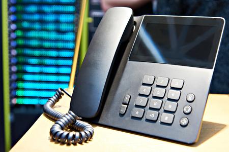 Office telephone for peer to peer technology