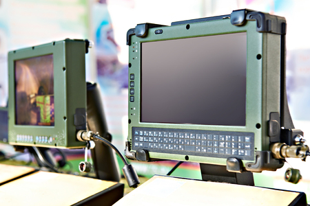 Protected tablet computers for industry and military purposes