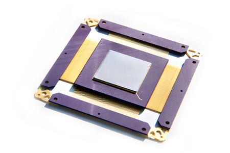 Radiation protected electronic processor isolated white