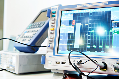 Digital Storage Oscilloscope. Radio measuring instruments