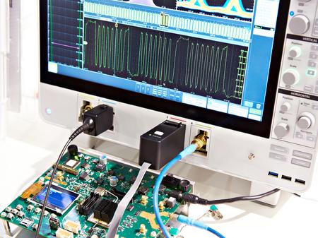 Mixed signal oscilloscope. Radio measuring instruments
