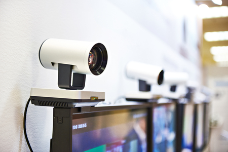 Guided camera for video conferencing