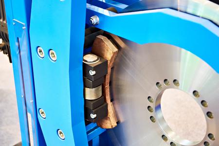 Disc brake for industrial equipment