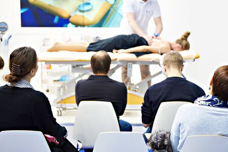 Massage training in the medical classroom