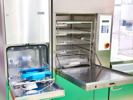 Medical washing disinfecting machine at the exhibition