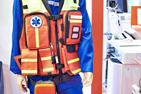Equipment emergency doctor at the exhibition