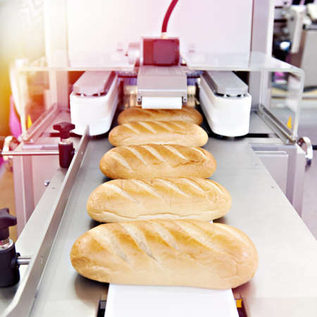 Bread loafs Korovai with patterns in the pastry shop Stock fotó