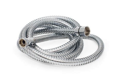 chromeplated: Chrome-plated corrugated hose for water